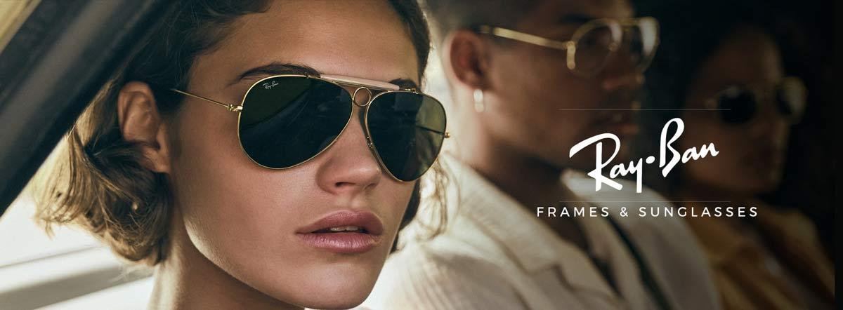 Rayban sunglasses and frames